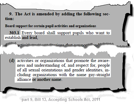 ontario education act essay