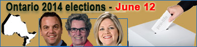 Ontario Byelections - August 1