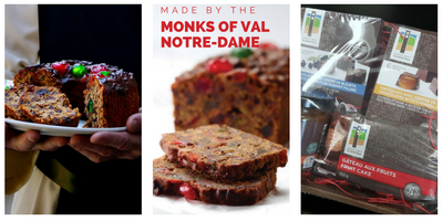 Monks Of Val Notre Dame Christmas Cakes