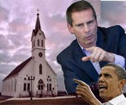 The two towers:  McGuinty & Obama's war against the Catholic Church