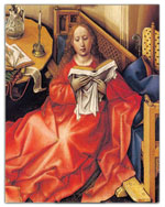 The annunciation by Robert Campin (One package)