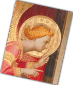 Annunciation by Fra Angelico (one package)