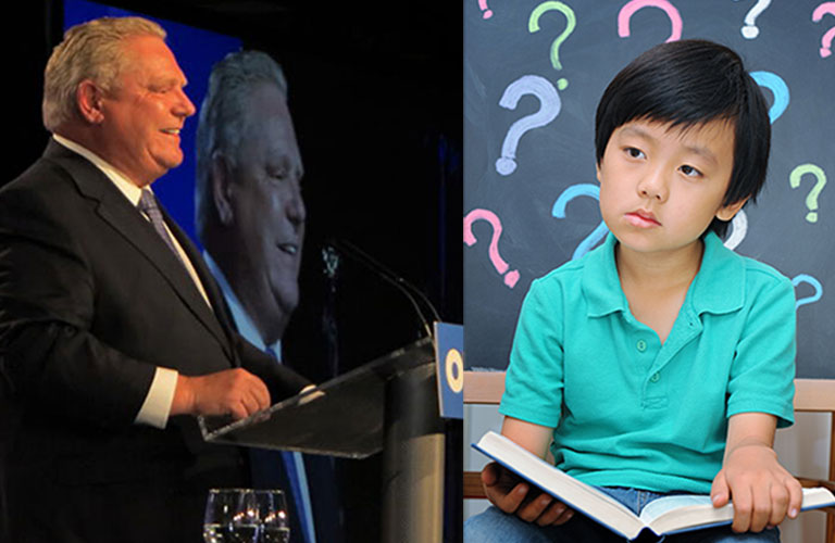 Ask Doug Ford to take a stand against liberal ideology in the classroom