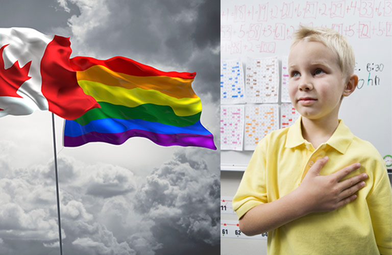 Petition: don't force homosexual flag on school children